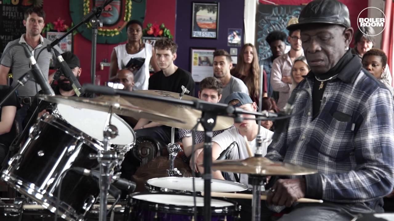 כיתת אמן וג׳אם עם המתופף ואגדת האפרוביט Tony Allen